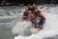 nile rafting kentern 1
