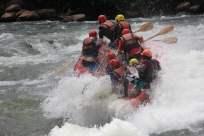 nile rafting kentern 1