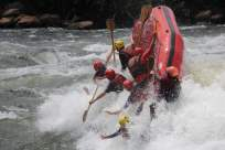 nile rafting kentern 2