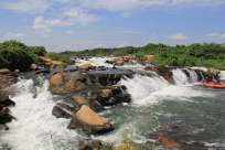 nile rafting panorama