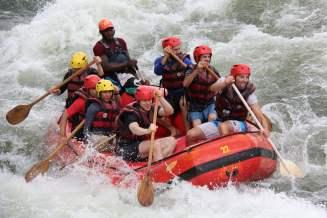 nile rafting angriff