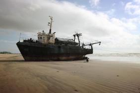 gestrandets schiff malindi