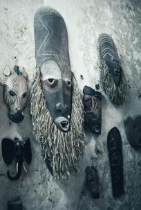 lamu afrikanische masken