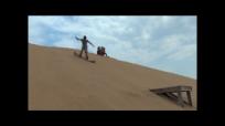 sandboarding jump a