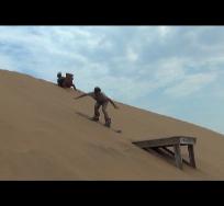 sandboarding jump b