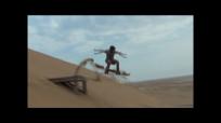 sandboarding jump d 3 - 4 arms