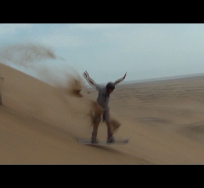 sandboarding jump e