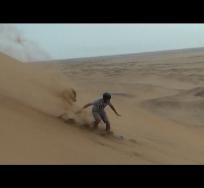 sandboarding jump f