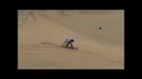 sandboarding jump i