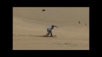 sandboarding jump j